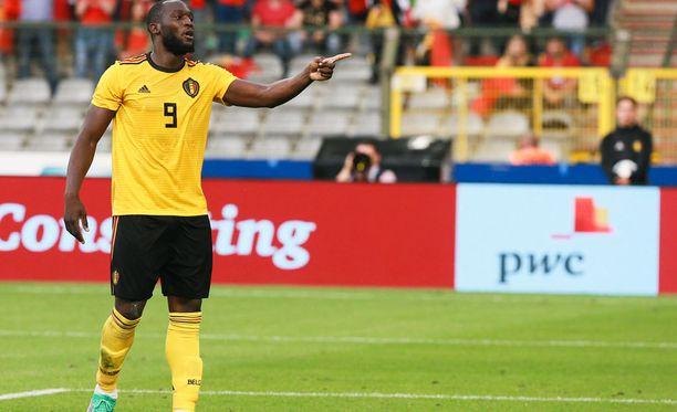 Belgian Romelu Lukaku oli tehokas Costa Ricaa vastaan.