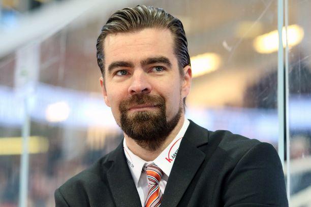 Jussi Ahokas valmensi KooKoota ensimmäistä kauttaan.