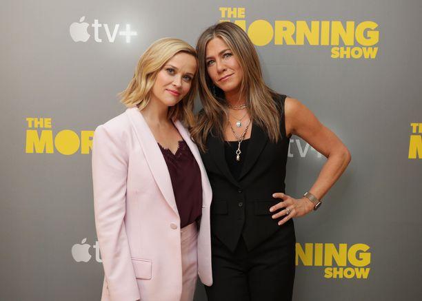 Reese Witherspoon ja Jennifer Aniston ovat hyviä ystäviä.