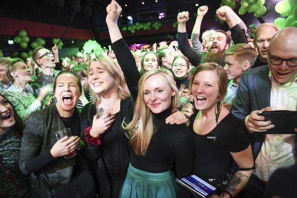 Maria Ohisalo sai eduskuntavaaleissa lähes 12 000 ääntä.