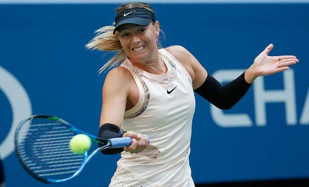 Maria Sharapova on aloittanut terävästi US Openissa.