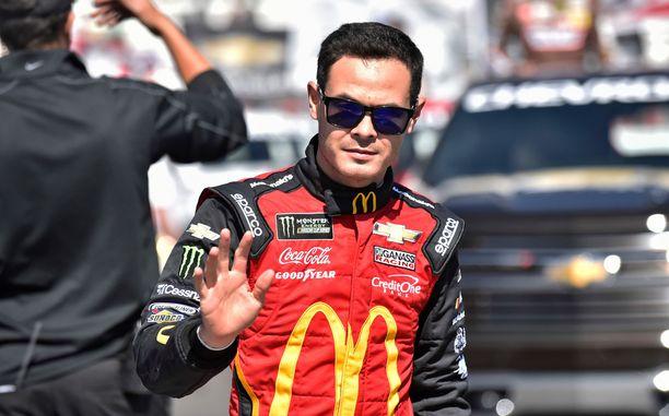 Kyle Larson ajoi NASCAR-sarjassa Chip Ganassi Racingin riveissä.