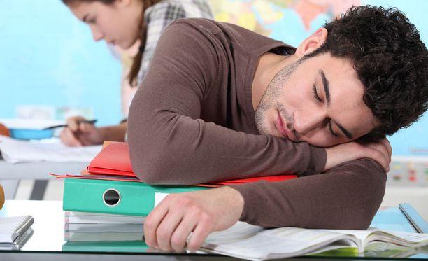 Narkoleptikko nukahtelee yllättävissä tilanteissa.