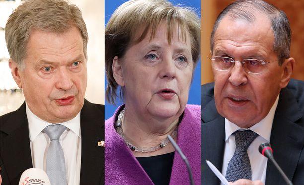 Muun muassa Sauli Niinistö, Angela Merkel ja Sergei Lavrov edustavat maitaan Münchenissä.