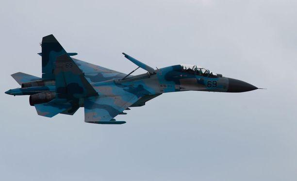 Pentagon vahvistaa, että USA:n kone kohtasi venäläisen Su-27-hävittäjäkoneen Itämeren yllä.