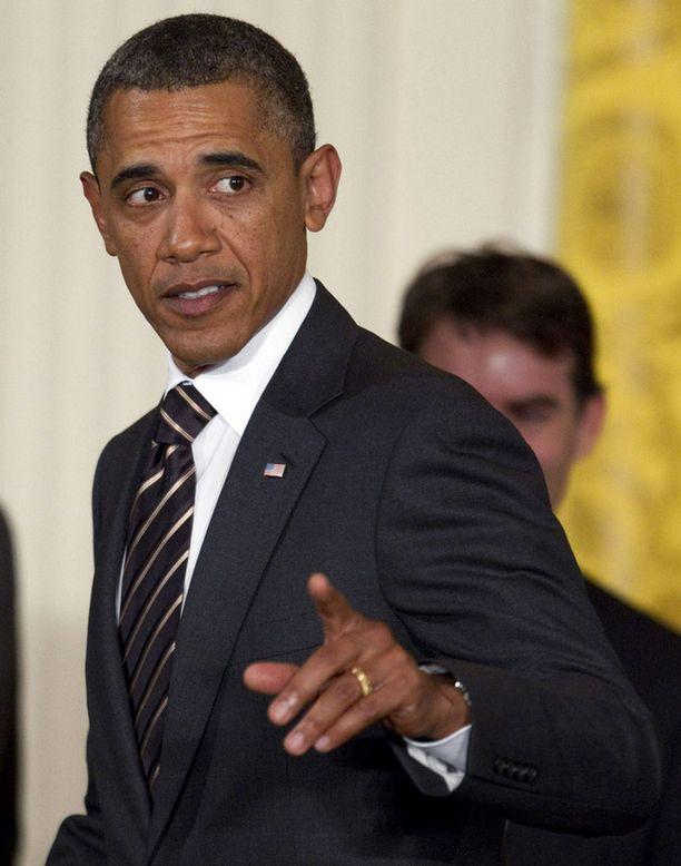 Presidentti Barack Obaman elvytystoimet eivät olleet republikaanien mieleen.