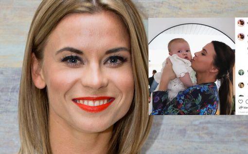 Salkkarit-tähti Tiia Elgin toinen lapsi sai nimen: Tässä on Neo