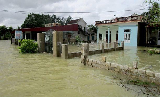 Tulvat koettelevat Vietnamin pohjois- ja keskiosaa.