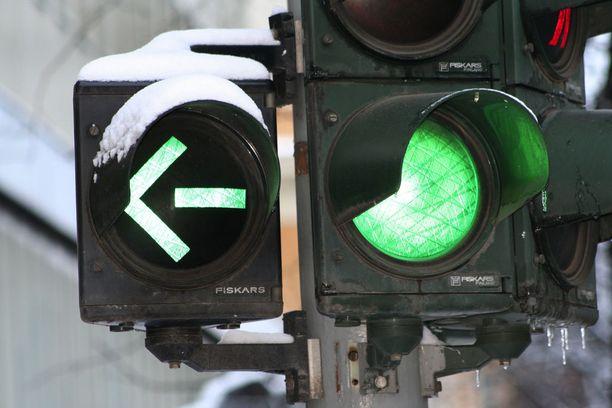 Vihreä on jokaisen kulkijan toive - myös pyöräilijän.