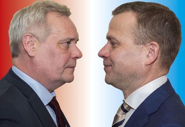 Antti Rinne ja Petteri Orpo saivat Iltalehden tentissä esittää yhden kysymyksen myös toisilleen.