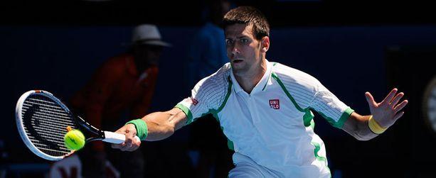 Novak Djokovicilla on kolmas kiikarissa.