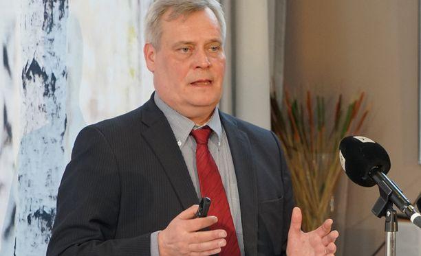 Valtiovarainministeri Antti Rinne (sd).