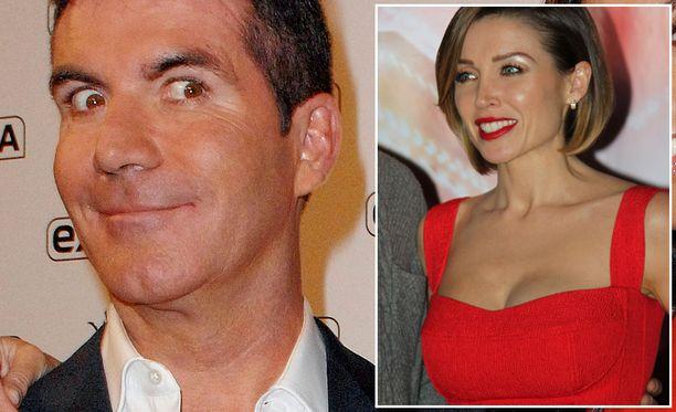 simon cowell oli mennyttä miestä, kun naisellisen kaunis Dannii Minogue liittyi X Factorin tuomaristoon vuonna 2007.