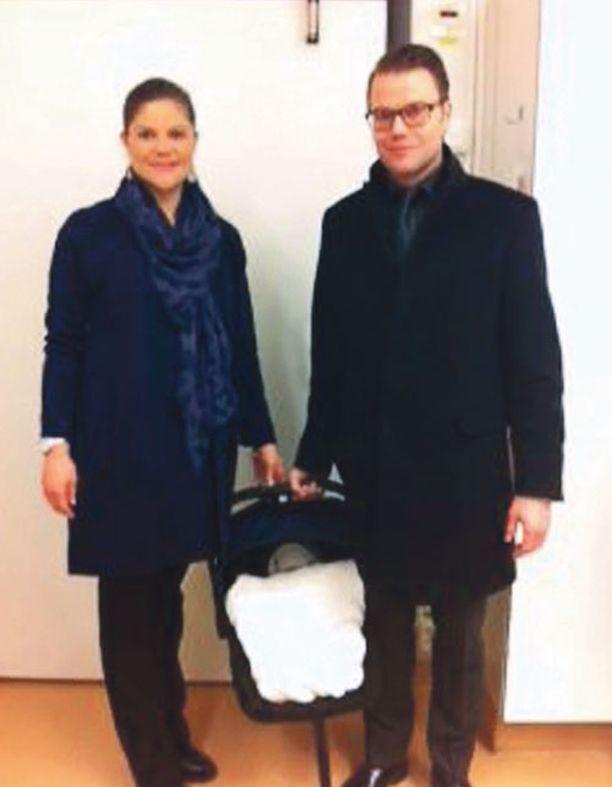 Victorian ja Danielin vauvalleen valitsema nimi julkistettiin perjantaina.