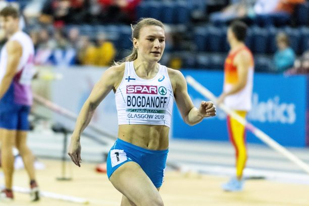 Matilda Bogdanoff aitoi torstaina uuden ennätysaikansa.