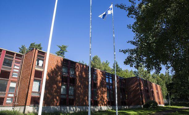 Evitskogin vastaanottokeskus.+