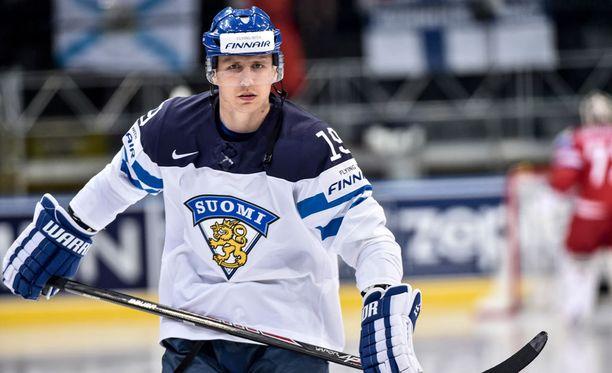 Veli-Matti Savinainen voitti MM-hopeaa Minskissä vuonna 2014.