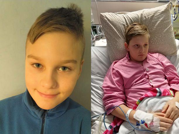 12-vuotias Max Niittymäki pelasti kaverinsa Aatoksen hengen turkulaisessa uimahallissa.