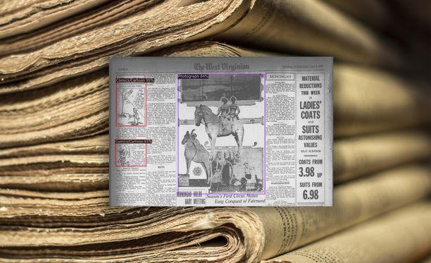 Tekoäly teki valtavan työn käydessään lehtiä läpi.