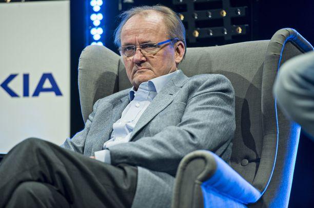 Antti Herlin kuvattuna Aalto-yliopistolla vuonna 2014.