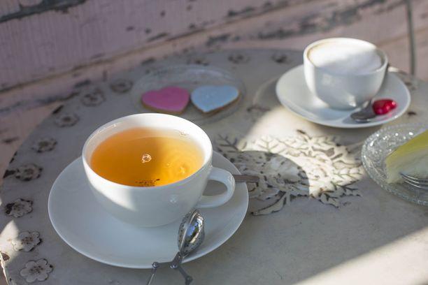 Café Vanille palvelee Suomenlinnan kävijöitä.