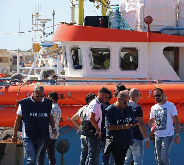 Sisiliasta on tullut Eurooppaan pyrkiville suosittu paikka rantautua.