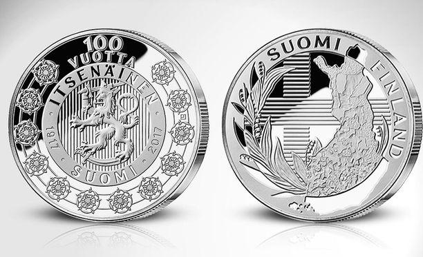 Upouuden Suomi 100 vuotta -juhlamitalin ylväs ulkoasu ja pelkistetty kuviointi miellyttää suomalaista silmää, mutta tarkemmin katsottuna kuva-aiheesta löytyy myös mielenkiintoista symboliikkaa.
