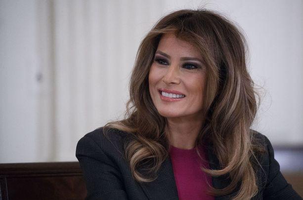 Yhdysvaltojen ensimmäinen nainen, presidentti Donald Trumpin puoliso Melania Trump kertoo maanantaina tulevaisuuden suunnitelmistaan. Arkistokuva.