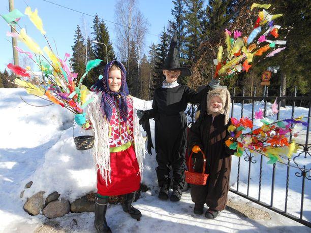 Lunta riitti Vantaalla!