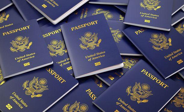 Seksuaalirikoksista tuomittujen passit menevät USA:ssa uusiksi.