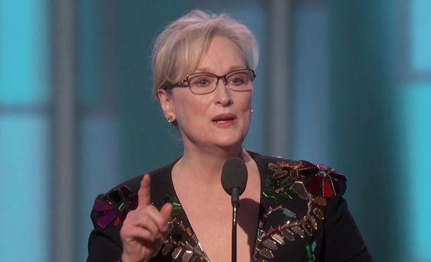MMA-yhteisö ei niellyt Meryl Streepin kommentteja purematta.