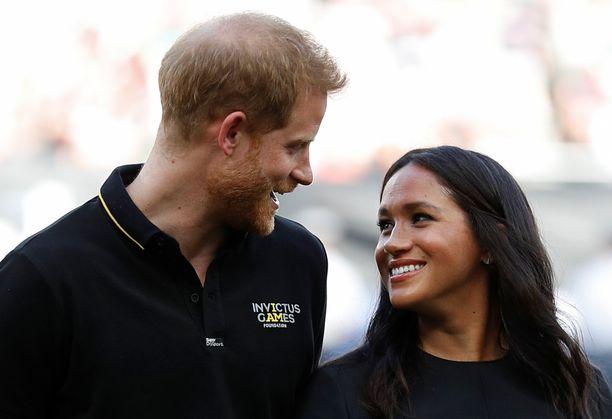 Prinssi Harry ja herttuatar Meghan saivat keväällä ensimmäisen lapsensa.