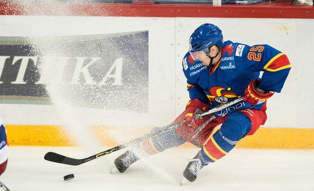 Pekka Jormakka harmitteli hukkaan heitettyjä pisteitä.