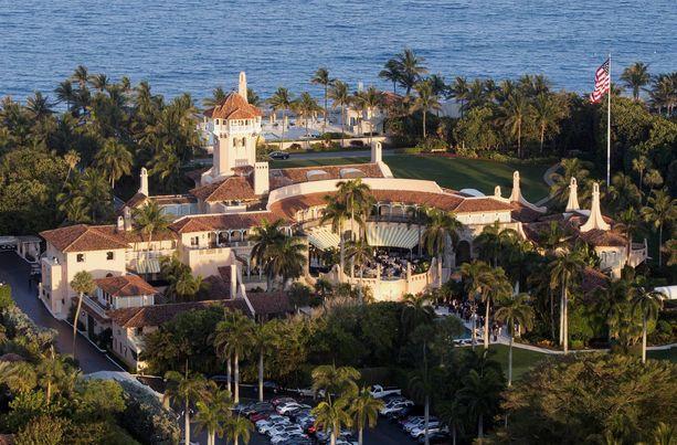 Donald Trump viettää usein vapaa-aikaa Mar-a-Lagossa.