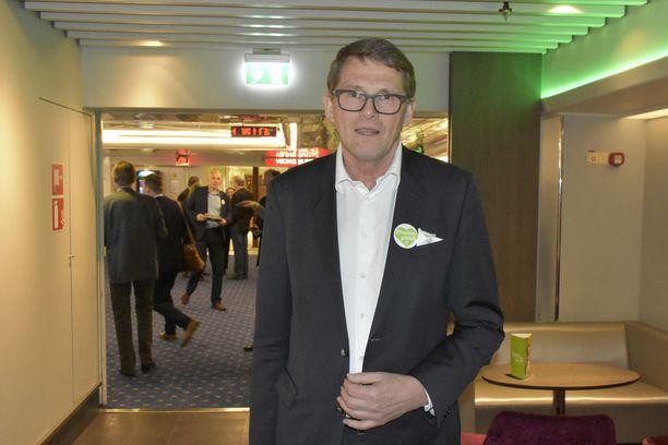 Matti Vanhanen on keskustan presidenttiehdokas.