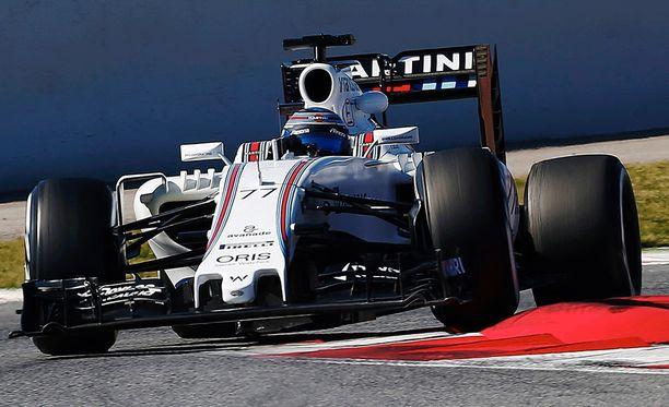 Valtteri Bottas on tehnyt keskiviikon nopeimman ajan Katalonian moottoriradalla.