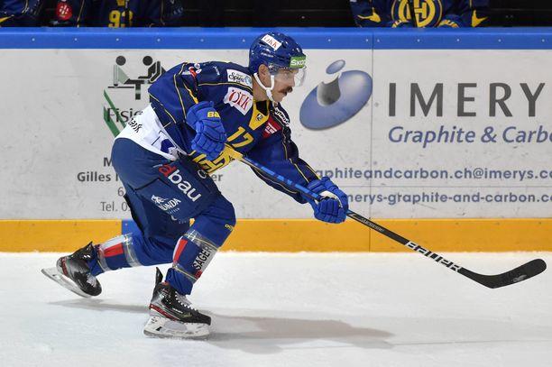 Perttu Lindgrenin pelit Davosin paidassa sujuivat kehnosti. Uusi seura löytyi kuitenkin nopeasti.