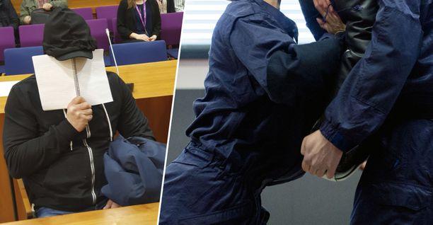 Miesopettaja opetti Poliisiammattikorkeakoulussa voimankäyttöä. Oikeanpuoleisen kuvituskuvan henkilöt eivät liity tapaukseen.