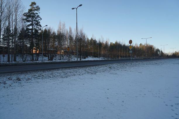 Mies kuoli poliisin kiinnioton yhteydessä Vantaalla Vihdintiellä Pähkinänsärkijän kohdalla.