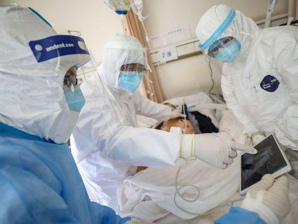 Jo yli 72 000 ihmisellä Kiinassa on todettu koronavirustartunta.