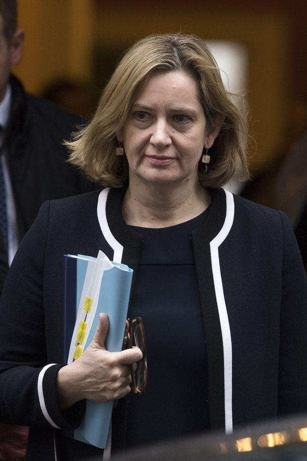 Sisäministeri Amber Rudd ei ole sanonut mitään Venäjän mahdollisesta osallisuudesta Sergei Skripalin myrkytykseen.