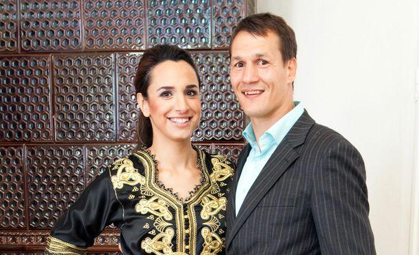 Nilüfer haki avioeroa Amin Asikaisesta viime elokuussa. Kuva vuodelta 2013.