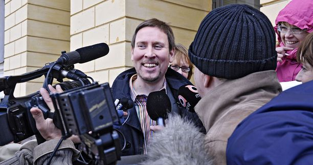 Paavo Arhinmäki tapasi Jyrki Kataisen aamupäivällä valtioneuvoston linnassa.