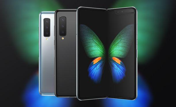 Galaxy Fold on Samsungin ensimmäinen taipuvanäyttöinen puhelin.