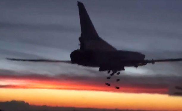 Venäjä aloitti ilmaiskut Syyriaan viime syyskuussa.