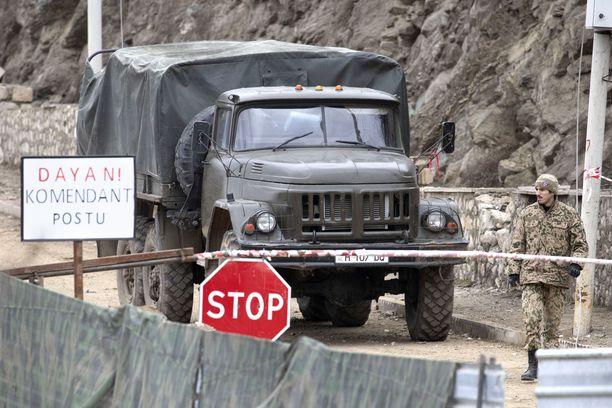 Taistelut Vuoristo-Karabahin alueesta kestivät useita viikkoja.