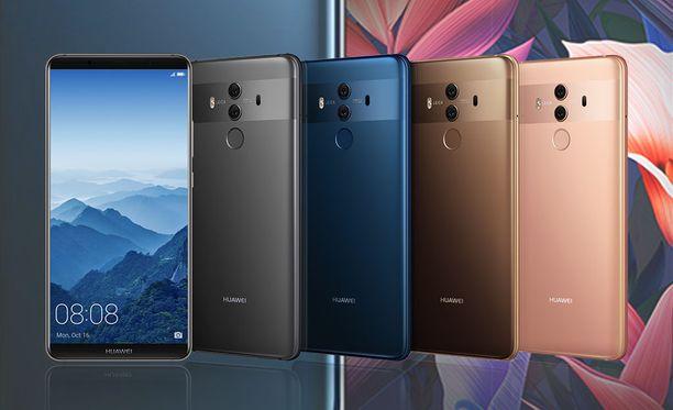 Huawei julkaisi hiljattain uuden lippulaivansa, Mate 10 Pron