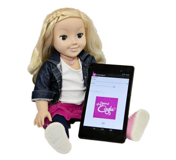 My Friend Cayla-nukke, joka on Saksassa luokiteltu laittomaksi seurantavälineeksi.