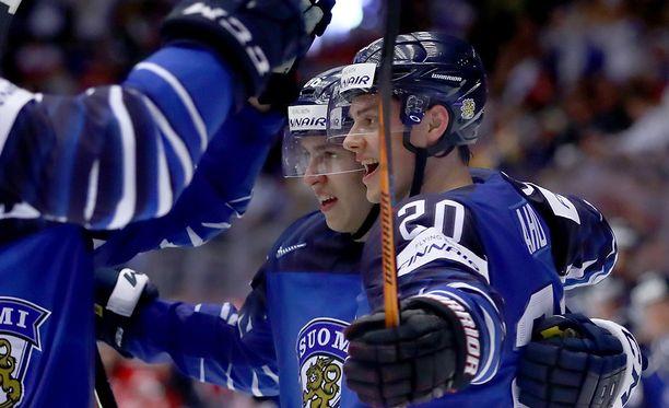 Sebastian Aho sanoo, että Leijonien ei pidä Tanska-tappion jälkeen tuntea  älytöntä stressiä.