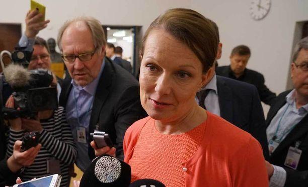 Lenita Toivakka palasi rivikansanedustajaksi kesällä 2016.